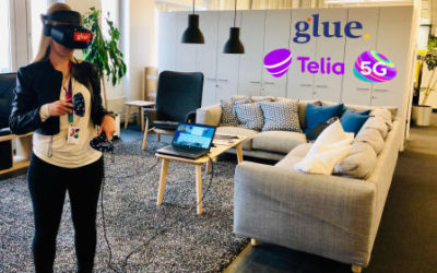 Running Glue on Telia's 5G network