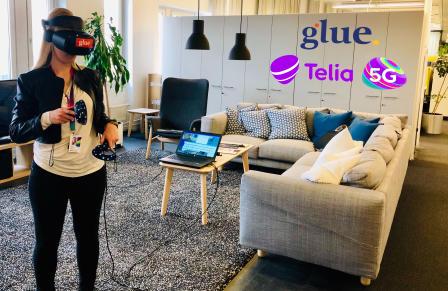 Running Glue on Telia's 5G network