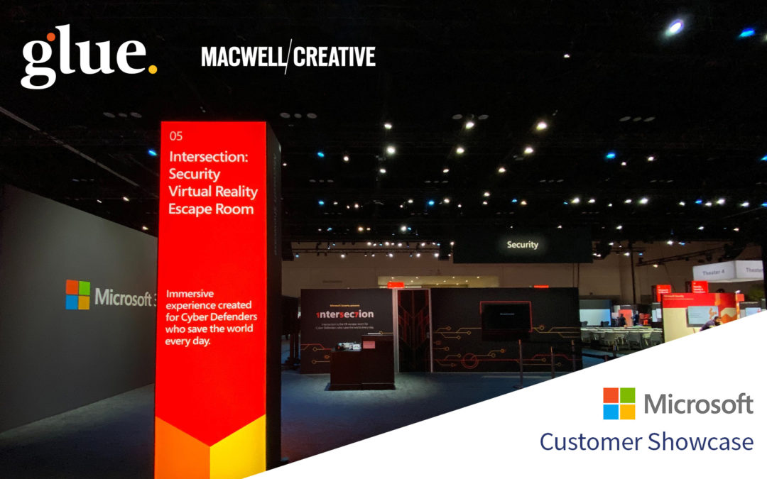 Immersive VR experience from Glue collaboration and Macwell Creative provides innovative showcase for Microsoft security products