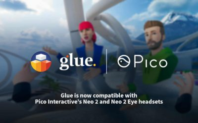 Glue is now compatible with Pico Interactive's Neo 2 and Neo 2 Eye headsets