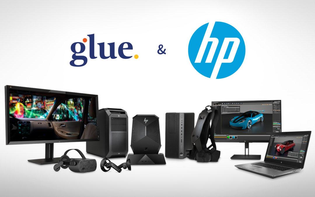 Glue becomes HP's Global VR ISV Partner