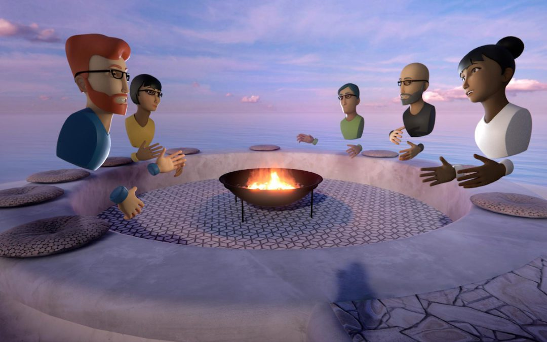The world isn't flat; nor should your virtual meetings be