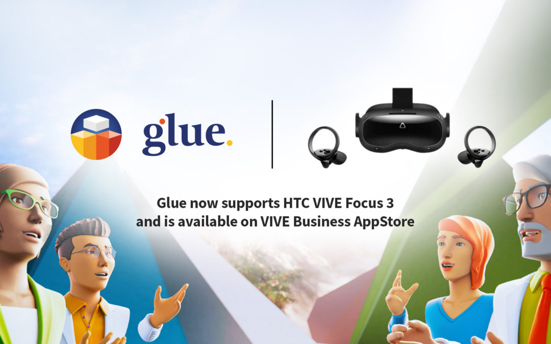 VIVE Focus 3 + Glue: new level of immersive meetings